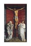 Calvary (fresco) Giclée-Druck von Rogier van der Weyden