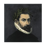 Alonso De Ercilla, Spanish Poet and Soldier Pósters por  El Greco