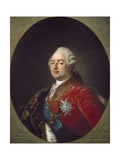 Portrait of Louis XVI Prints by Antoine Francois Callet