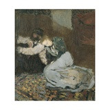 Mr. and Mrs. Roussel Poster par Edouard Vuillard