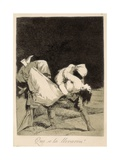 They Carried Her Off! Posters by Francisco de Goya