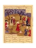 Faridun Enthroned Prints