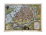 Map of Antwerp Giclee Print by Abraham Ortelius
