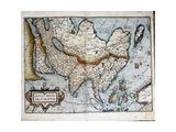 Map of Asia Giclee Print by Abraham Ortelius