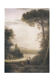 Archangel Raphael and Tobias Posters by Claude Lorrain