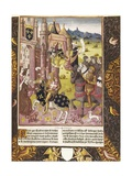 Allegory of Charlemagne's Reign Posters by Antoine Verard