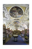 Theological Hall of the Library (1723-27) Posters