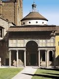 Pazzi Chapel Foto af Brunelleschi, Filippo