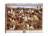 Battle Scene Print by Rufus Quintus Curtius