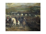 Battle of Alcolea Near Cordoba (Sept Prints by Jose Maria Rodriguez de Losada