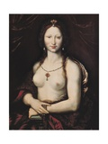 Gioconda or Naked Mona Lisa Kunstdrucke von Joos Van Cleve