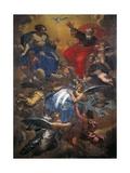 The Trinity Giclee-tryk i høj kvalitet af Carlo Maratti