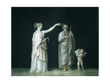 Calliope and Homer Prints by Antonio Canova