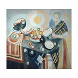 La Verseuse Print by Robert Delaunay