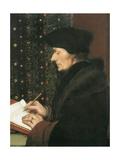 Erasmus Giclée-Druck von Hans Holbein the Younger