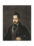 Portrait of Mariano Jose De Larra Posters by Jose Gutierrez De La Vega