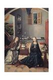 The Annunciation Plakater af Fernando Gallego