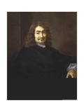 Portrait of Rene Descartes Giclee Print by Sebastien Bourdon