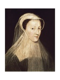 Mary, Queen of Scotland ((1542-1587) Giclee Print by Francois Clouet