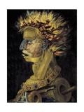 Fire, 1566 Plakater af Giuseppe Arcimboldo
