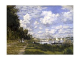 The Pond of Argenteuil Posters por Claude Monet