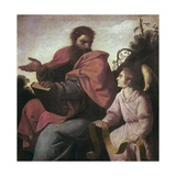 St. Matthew Poster by Francisco de Zurbaran