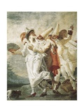 Life of Pulcinella Posters by Giovanni Battista Tiepolo