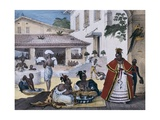Guarani Women in the Interior of a Gypsy House Giclee Print by Jean Baptiste Debret