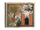 Capture of Ruan (Rouen) in 1419 During Hundred Years' War Posters