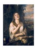 Penitent Magdalene Plakater af Titian (Tiziano Vecelli)