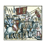 Soldiers in Battle Formation Prints