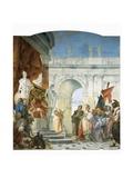 Continence of Scipio Africanus Posters by Giovanni Battista Tiepolo