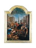 Massacre of the Innocents Poster by Antoni Viladomat i Manalt
