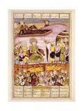Sohnab Turns Up in Rostam's Tent Prints