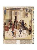 Entrance of Elizabeth of Bavaria into Paris Poster