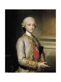 Infante Don Gabriel of Bourbon Prints by Anton Raphael Mengs