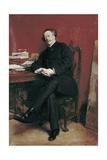 Portrait of Alexandre Dumas Fils Poster by Ernest Meissonier
