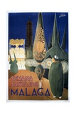 Travel Poster of the Holy Week in Malaga (1961) Posters