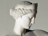 Aphrodite of Capua, Detail of Head Photo by  Lyssipus