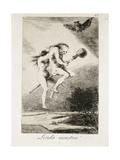 Pretty Teacher Print by Francisco de Goya
