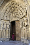 Last Judgment Portal of the West Façade of Leon Cathedral Photo