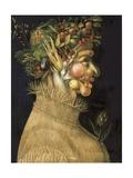 Summer, 1563 Poster af Giuseppe Arcimboldo