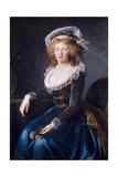 Maria Theresa of Naples and Sicily, 1790 Poster von Elisabeth Vigee-Lebrun