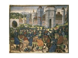 Battle Outside City Walls Prints