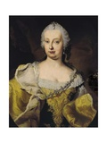 Portrait of Maria Theresa Print by Martin van Meytens