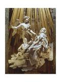Ecstasy of Saint Teresa Premium Giclée-tryk af Bernini, Giovanni Lorenzo
