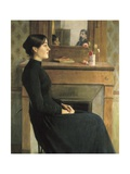 Portrait of a Woman Prints by Santiago Rusinol i Prats