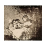 The Reading Giclee Print by Francisco de Goya