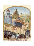Conquest of Castle of Celeine Prints by Rufus Quintus Curtius