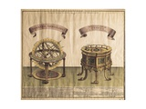 Armillary Sphere and Planetarium (1774) Posters